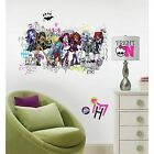 New Giant MONSTER HIGH GROUP WALL DECALS Girls Room Stickers Bedroom Decor