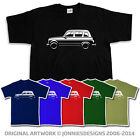 RETRO RENAULT 4 INSPIRED CLASSIC CAR T-SHIRT - CHOOSE FROM 6 COLOURS (S-XXXL)