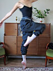 Lady  girl women ballet dance fitness sport exercise warm up sweat pants - New