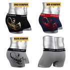 Mens Underwear NEW Young Boxer Briefs shorts Cotton Trunks Gold leaf  SCORPION