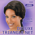 Annie Deluxe Triangle Net Cotton Material, Protects Your Hair