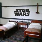 STAR WARS LOGO  CHILDREN LARGE  wall sticker  BEDROOM QUOTE DECAL