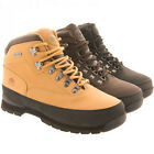 MENS GROUND WORK LEATHER SAFETY STEEL TOE CAP BOOTS WORK TRAINERS HIKING SHOES