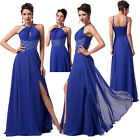 GK Luxury Lady Fit Evening Formal Cocktail Dance Party Prom Long Dress Maxi Gown
