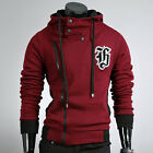 HOT SALE Men's Casual Hi-Q Coats Jacket Classic Side Zip Hoodies Coat Outerwears