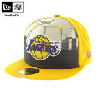 "NEW ERA Cappello 59FIFTY Cap ""Round Dway"" LOS ANGELES LAKERS Berretto NUOVO Nba"