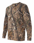 Real Tree Camouflage AP or APG Hunting Camo  Long Sleeve Tee SM To 2XL 3981 BEST