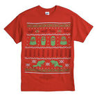 Duck Dynasty UGLY CHRISTMAS SWEATER T Shirt BUCK COMMANDER Holiday Tee UNCLE SI