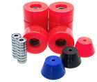 Rollschuh Rollen / Stopper / ABEC Lager Set  Disco Roller Skate Impulse RED