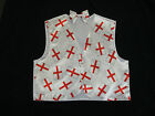 Kids England Flag Waistcoat & Bow Tie St Georges Day Cross Boys Girls S M L