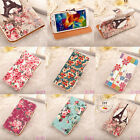 New Lovely Women Credit Card Wallet Leather Case Stand Cover For Mobile Phone HY