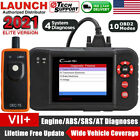 LAUNCH X431 Creader VII+ 7+ OBD2 Scanner Diagnostic Code Reader Engine ABS SRS