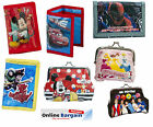 Boys Girls Disney Princess Mickey Minnie Spiderman Toy Story Wallet Coin Purse
