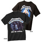 METALLICA T-Shirt Ride The Lightning New Authentic Rock Metal Tee S-3XL image