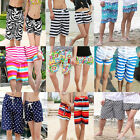 New Fashion Sexy Mens Womens Lovers Couple Various Beach Surf Board Swim Shorts
