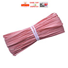 Raffia Paper Ribbon Gift Wedding Decorating Scrapbooks PINK CORAL 1m 10 20m 100m