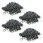 2400 SILVER RUBBER BANDS for Rainbow Loom 100 S-CLIPS ~FREE US SHIP