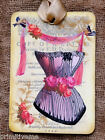 Hang Tags  FRENCH PARIS PINK CORSET TAGS #449  Gift Tags