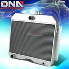 FOR 46-53 WILLYS STAION WAGON PICKUP TRUCK THREE ROW/CORE FULL ALUMINUM RADIATOR