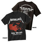 METALLICA T-Shirt Kill Em All 83 Summer Tour Distressed New Authentic S-3XL