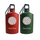 Personalized Engraved Volleyball Sport 17 Oz Aluminum Canteen Water Bottle