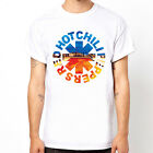 Red Hot chili Peppers-Cali  band rock gift music guitar unisex white t-shirt