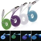 Visible LED Light 8pin USB Charger Data Sync Cable Cord for iPhone 5 5S 5C iPod