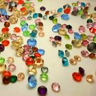 Mixed Point back Rhinestones Crystal Glass Unplated Chatons Nail Ar 50g 720ps