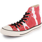 Converse Chuck Taylor Bleach Hi Unisex Trainers Red White New Shoes All Sizes