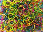 Colourful LOOM Rubber Bands ..Rainbow.. Refill Bracelet Making DIY S Clips