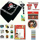 Pirate Party All ITEMS & Toys bag bandana balloon cup plate invite maze supplies