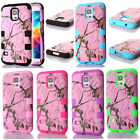 New Heavy Duty Hybrid Rubber Hard Case Cover for Samsung Galaxy S5 S V i9600 SHU