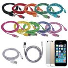 1/2/3M USB Data Sync Charger Cable Cord for iPhone 6 6Plus 5 5S iPod Touch Nano