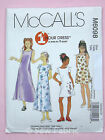 McCall's 6098 Sewing Pattern - Girls' Dress in 2 Lengths - Approx. Ages 7-16