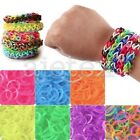 Approx 190x Glow In Dark Loom Rubber Bands Refill + 1x Loom Tool + 15x S Clips