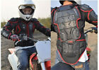 New Men's Motorcycle Body Armor Protection Gear Cycling Armor Racing Vest (Red)