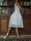 Adult lady or girl simple ballet dance white tutu dress - New
