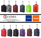 50x40x20 EasyJet Trolley Cabin Approved Wheeled Suitcase Hand Luggage Flight Bag