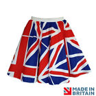 England Flag union jack Pattern Circle Skirts Rock n Roll, Dance Party Football