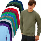 Restposten Pullover FRUIT OF THE LOOM Raglan Sweat Pulli S M L XL XXL Neu