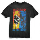 GUNS N ROSES T-Shirt Use Your Illusion Color Combo OFFICIALLY LICENSED S-2XL