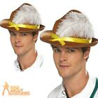 Oktoberfest Bavarian Hat German Fancy Dress Unisex Leherhosen Costume Accessory