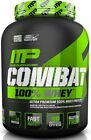 MUSCLE PHARM COMBAT WHEY PROTEIN POWDER MP 1.8KG /4LBS-VERY CHEAP whey shake