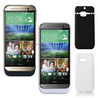 3200mAh External Backup Charger Power Pack Battery Stand Case for HTC One M8 UK