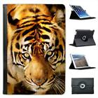 Tiger Face Close Up Folio Leather Case For iPad Mini & Retina