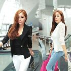 Women Girl Lady Elegant Lace Splicing Slim Suits Jacket Coat Blazer Tops C1MY