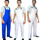Bib and Brace Dungarees Painters Decorator Engineers Work Wear Overall S to XXXL