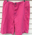 NWT Marc Jacobs Mens Willis Bubble Gum Pink Stripe Cotton Shorts XS S M L $228
