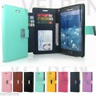 Synthetic leather ID wallet Case cover w/magnet hold for iPhone 5S/Galaxy S5/LG