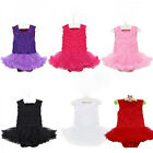 2014 Kids Baby Girl Infant Clothes Newborn Headband Romper Jumpsuit Outfit Dress